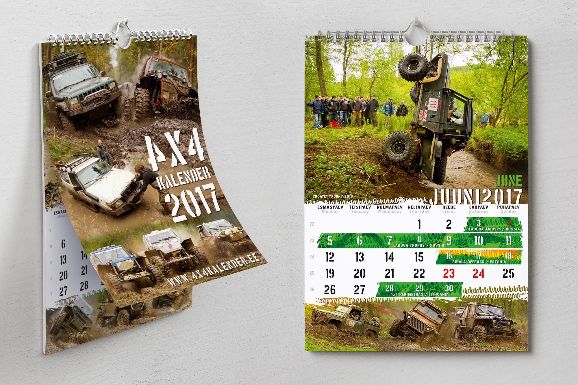 Kalendri kujundamine